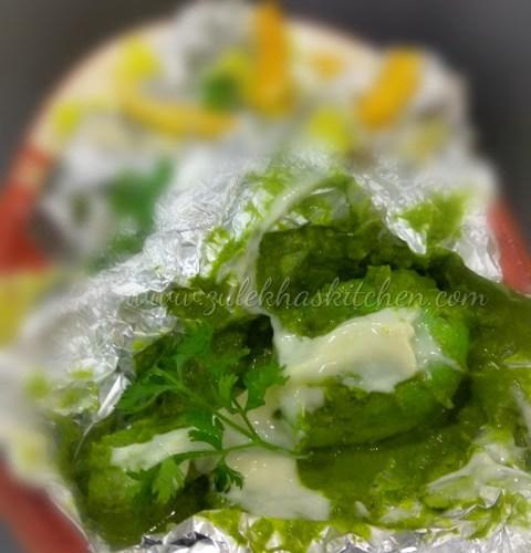 Green Foil Chicken