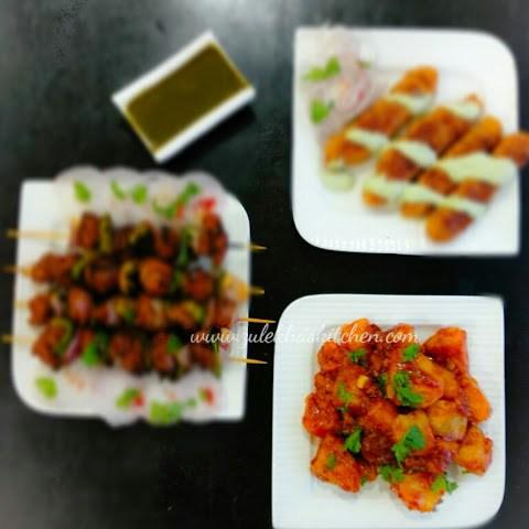Schezwan Aloo Recipe. Chinese Potatoes