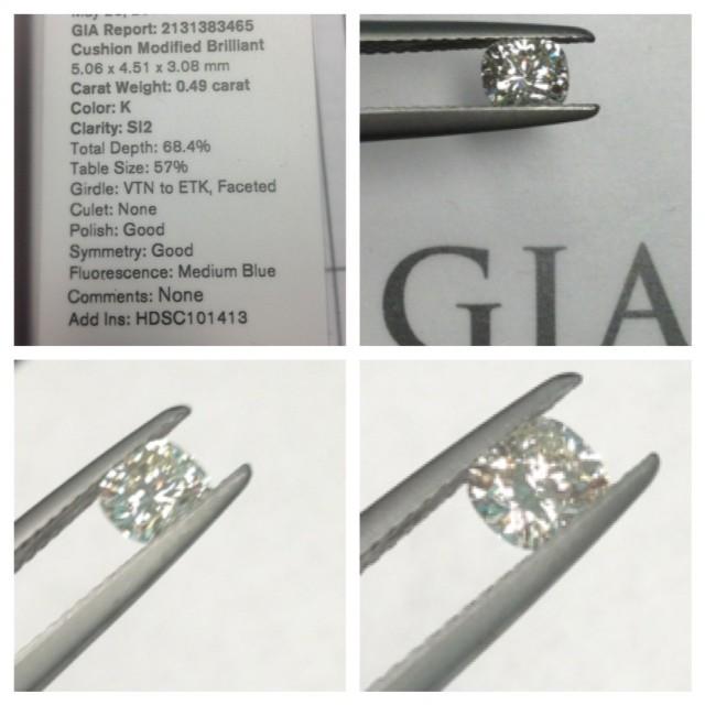 Brilliant cut igi gia certified real loose white diamond price per cara. Gia Zulkarnain