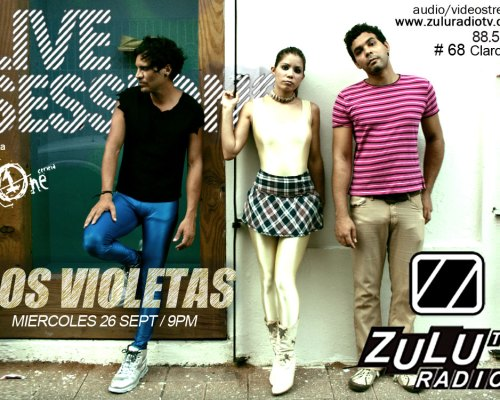 Live Session Los Violetas (Podcast)