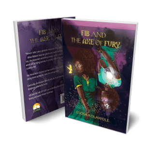 FIB AND THE AXE OF FURY – Paper Back