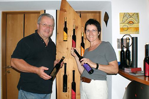 Juliana und Dominikus Spendel. Sie verbinden Kunst und Kulinarik im Lavanttal.