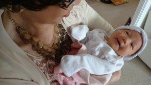 Baby Zoey Birth 40