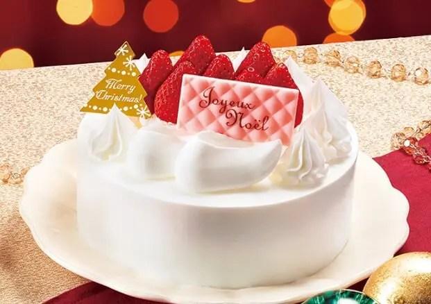 ファミマのクリスマスケーキ2021予約期間はいつからいつまで?特典や内容も5