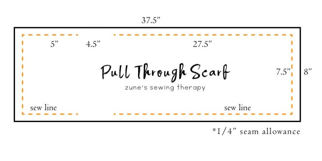How to Make a Pull Through Scarf