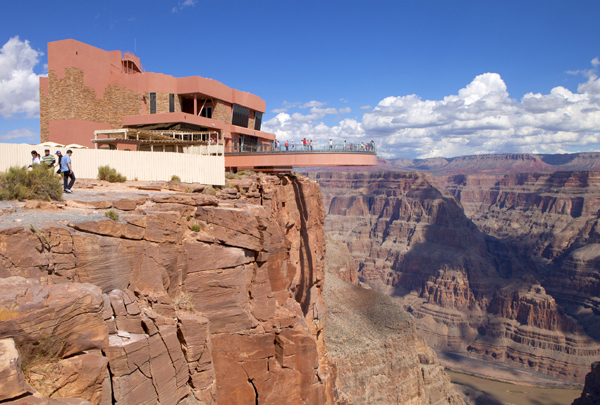 Grand Canyon Skywalk at Grand Canyon West