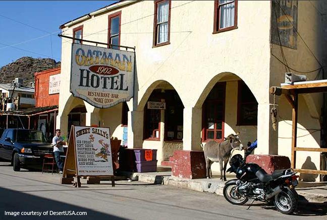 Oatman Ghost Town