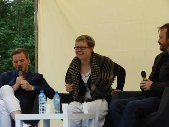 Szczepan Twardoch i Wojciech Chmielarz w rozmowie z Miładą Jędrysik