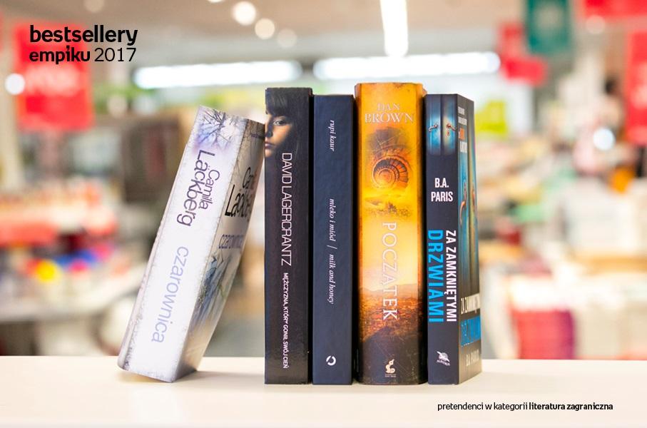 Bestsellery Empiku 2017 | Które książki sprzedawały się najlepiej?