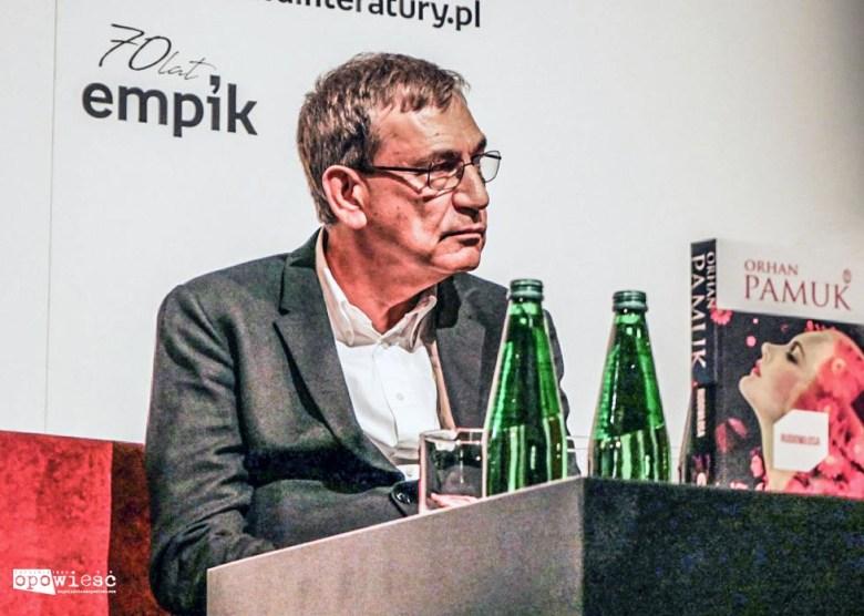 Orhan Pamuk, fot. Przemysław Poznański/zupelnieinnaopowiesc.com