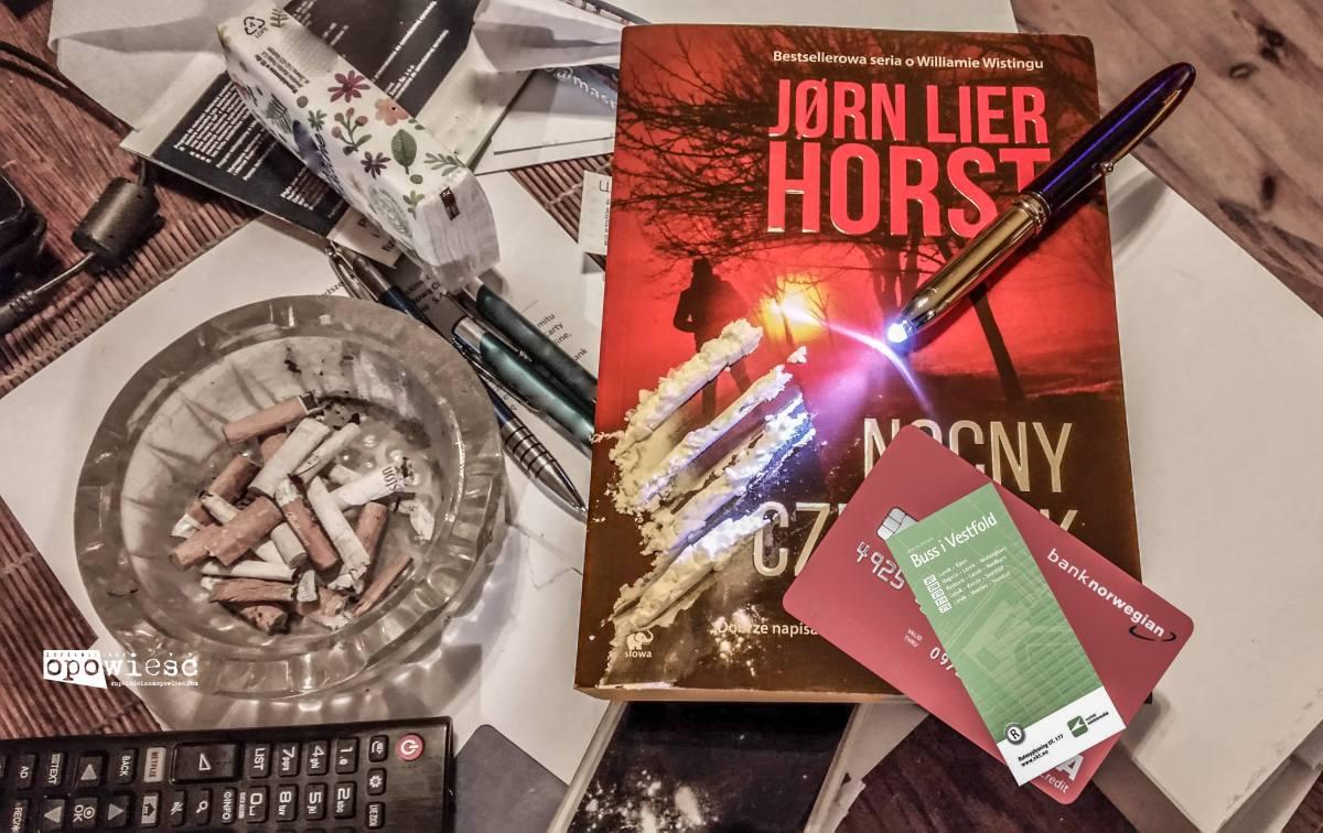 Koszmar wyłania się z mgły | Jørn Lier Horst, Nocny człowiek