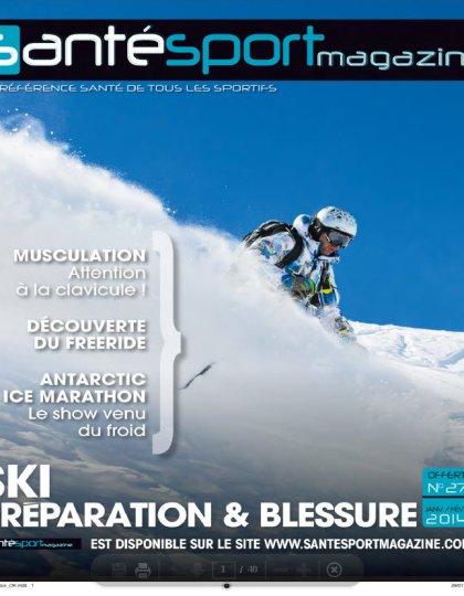 Santé Sport Magazine N°27 Janvier Février 2014