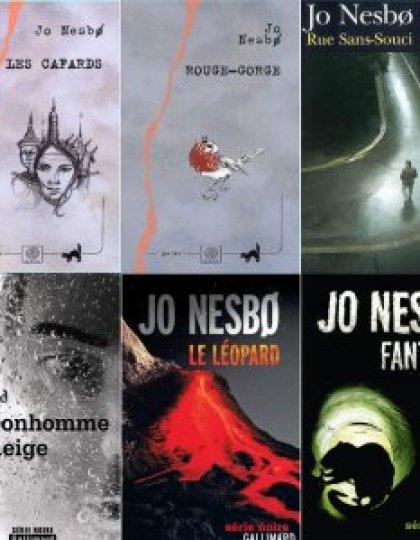 Jo Nesbo - Les 10 ouvrages de la série Harry Hole