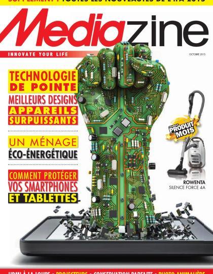 Mediazine Belgique - Octobre 2015