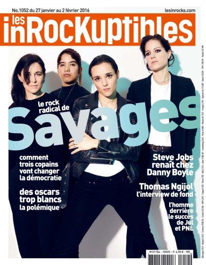 Les Inrockuptibles N°1052 - 27 au 2 Février 2016