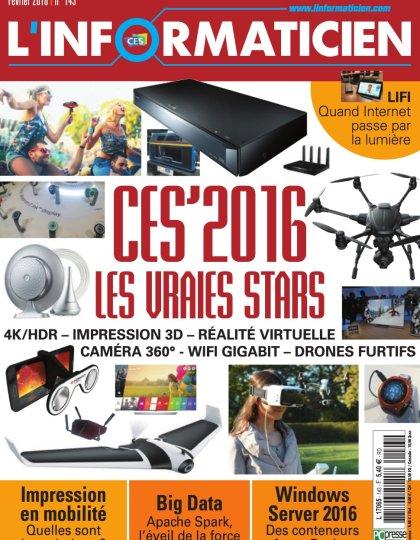 L'Informaticien N°143 - Février 2016