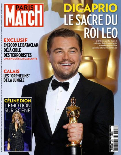Paris Match N°3485 - 3 au 9 Mars 2016