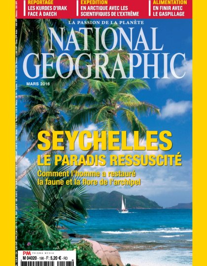 National Geographic N°198 - Mars 2016