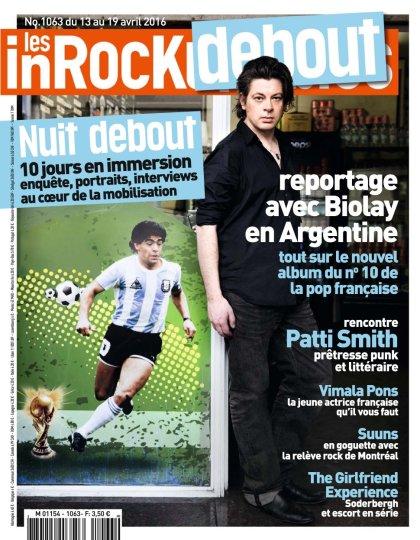 Les Inrockuptibles N°1063 - 13 au 19 Avril 2016