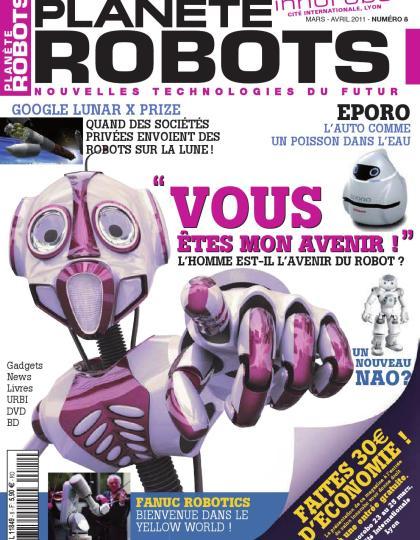 Planète Robots No.8