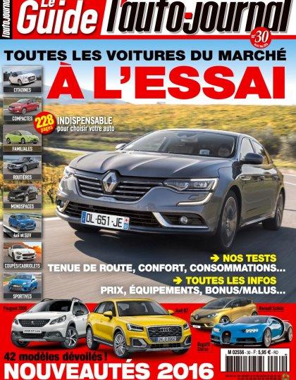 L'Auto-Journal (Le Guide) N°3 - Avril/Mai 2016