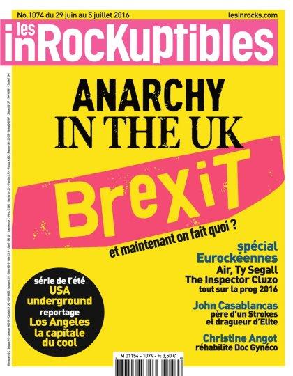 Les Inrockuptibles N°1074 - 29 Juin au 5 Juillet 2016