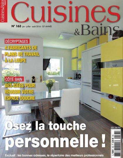Cuisines & Bains N°163 - Juillet/Aout 2016