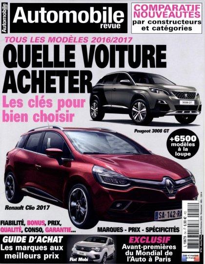Automobile Revue N°54 - Aout/Octobre 2016