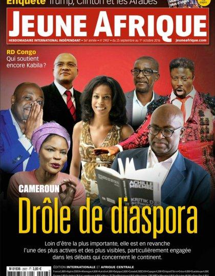 Jeune Afrique N°2907 - 25 Septembre au 1er Octobre 2016
