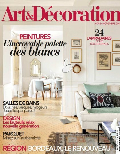 Art & Décoration N°518 - Novembre 2016