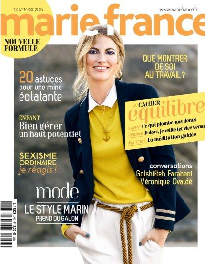 Marie France N°253 - Novembre 2016