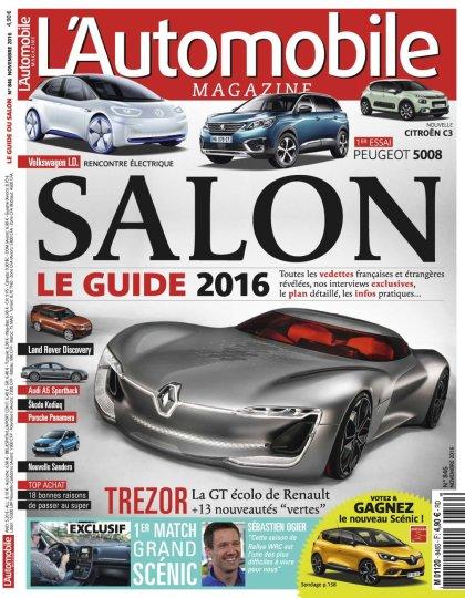 L'Automobile magazine N°846 - Novembre 2016