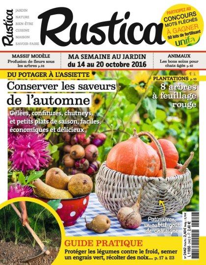 Rustica N°2442 - 14 au 20 Octobre 2016