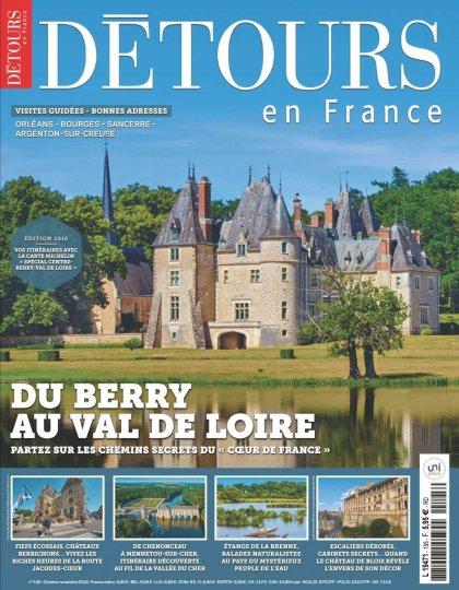 Détours en France N°195 - Octobre/Novembre 2016