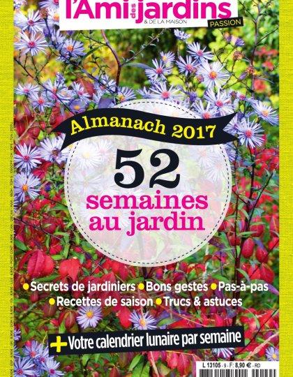 L'Ami des Jardins Passion N°9 - Almanach 2017