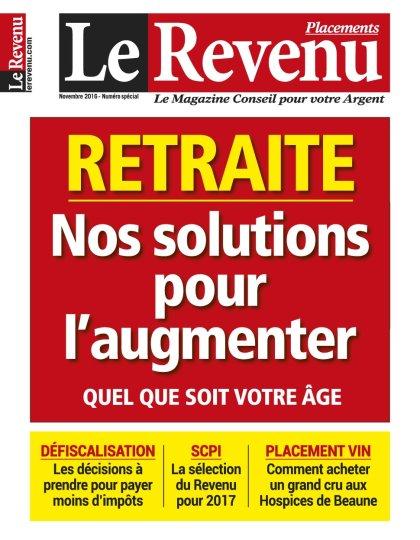 Le Revenu Placements N°233 - Novembre 2016