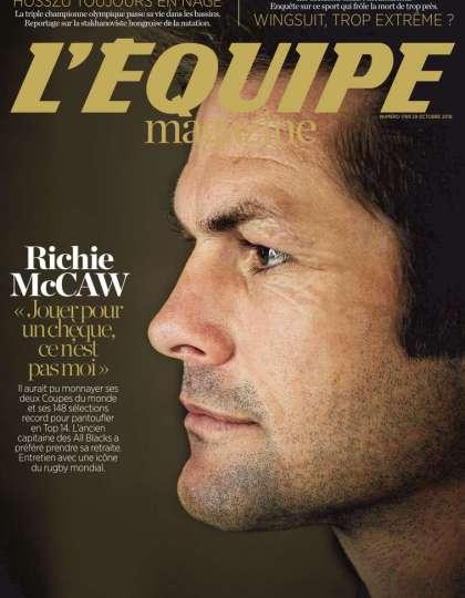 L'Equipe Magazine N°1789 - 29 Octobre 2016