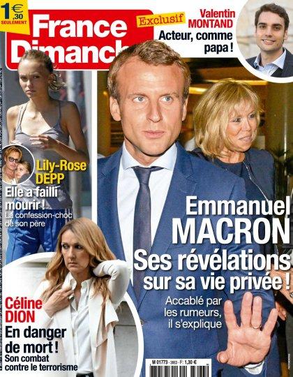 France Dimanche N°3663 - 11 au 17 Novembre 2016