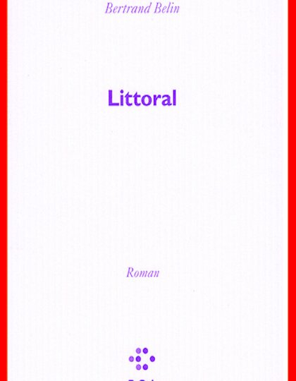 Bertrand Belin (Oct.2016) - Littoral