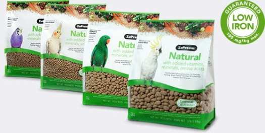 Pellet Bird Food with added Vitamins and Minerals