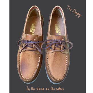 Zapato naútico piel cuero