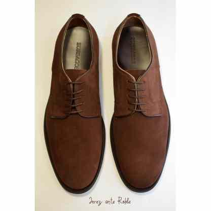 zapato cordon marron