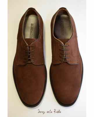 zapato cordon marron