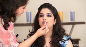 Smoky eyes - how to do wedding or bridal makeup at home