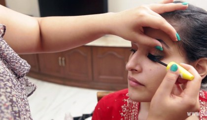 Indian bridal makeup 33