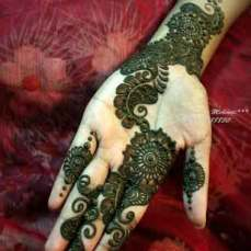 simple mehndi designs for hands