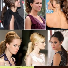 Ponytail hairstyles for long hair 14