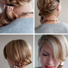 Ponytail hairstyles for long hair 17