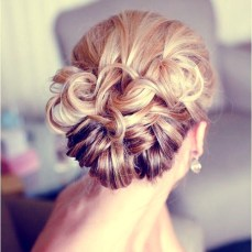 Indian bridal hairstyles updo's 02