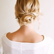 Bridal hairstyles buns 10